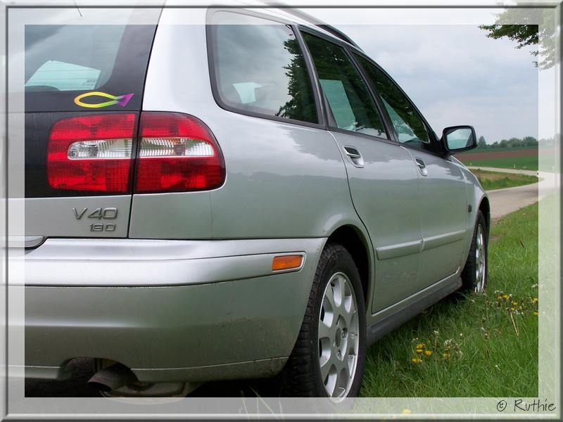Volvo, silber